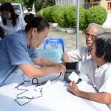 โครงการส่งเสริมสุขภาพผู้สูงวัย สร้างจิตสดใส ร่างกายแข็งแรง ประจำปี 2560